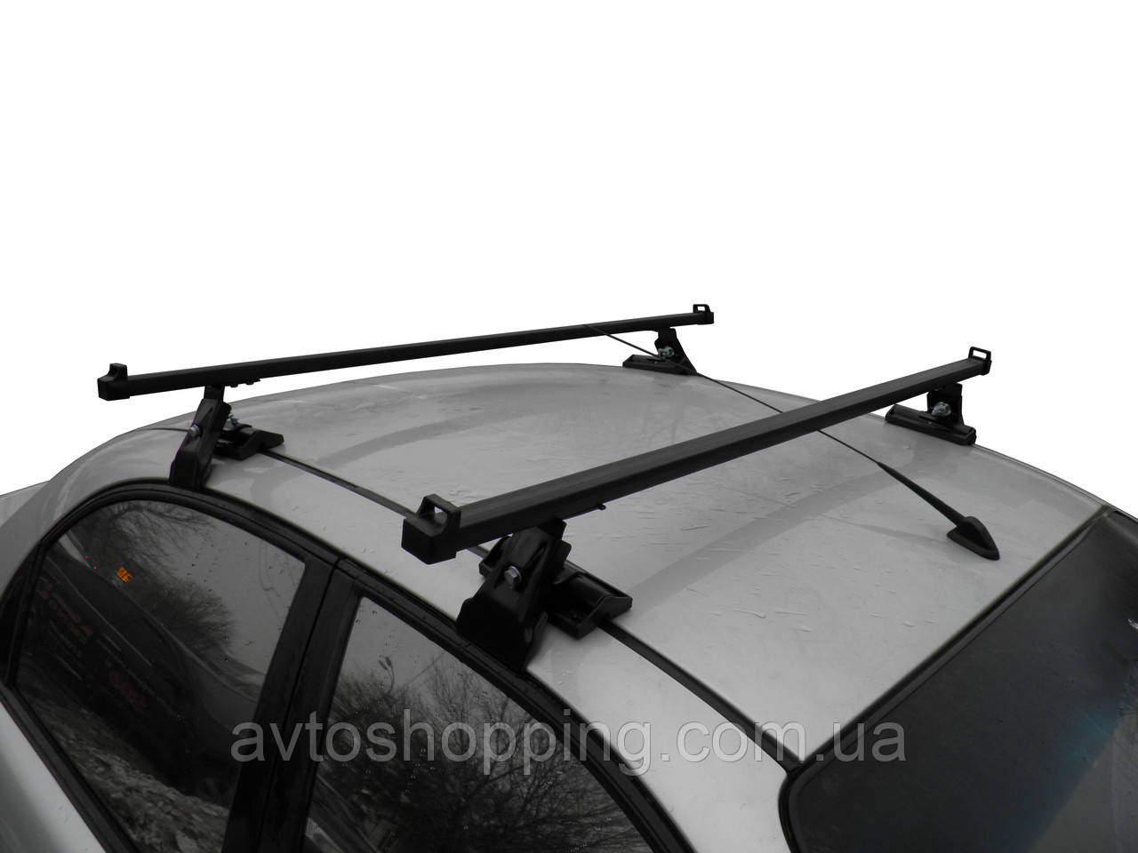 Багажник на дах CAMEL для авто з гладкою дахом Черато, Ланос, Лачетті, Акцент, Авео, Лансер,