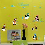 Интерьерная наклейка на стену Пингвины, фото 3