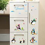 Интерьерная наклейка на стену Пингвины, фото 5