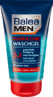 Гель мужской для очищения кожи лица Balea MEN, 150 мл