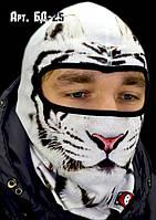 Балаклава, маска, подшлемник с оригинальным принтом