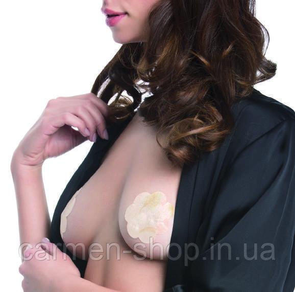 Наклейки для груди Julimex PS 04 Цветочки