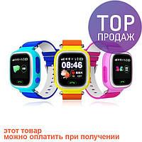 Smart Baby Watch Q90 Детские смарт часы с GPS трекером / ЧАСЫ - ТЕЛЕФОН smart watch