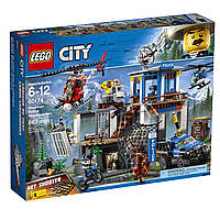 Конструктор LEGO City Штаб-квартира горной полиции Police Mountain Police Headquarters Building Kit60174