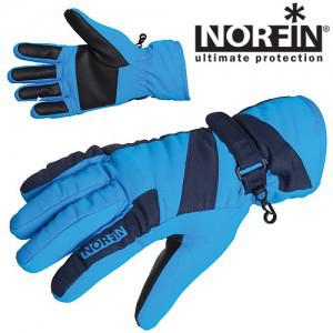 Перчатки Norfin Windstop Blue