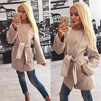 Стильное женское кашемировое пальто Mint y-310230