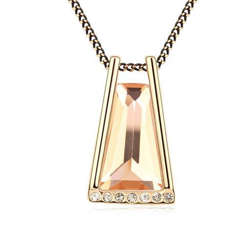 Кулон с золотым камнем  P003837
