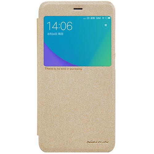 Чехол-книжка Nillkin Sparkle Gold для Xiaomi Redmi Note 5A