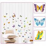 Набор декоративных наклеек  бабочек , фото 2