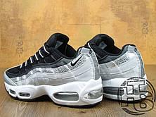 Мужские кроссовки Nike Air Max 95 Black/Gray/White 814914-001, фото 3