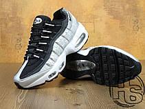 Мужские кроссовки Nike Air Max 95 Black/Gray/White 814914-001, фото 2