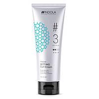 Крем для создания локонов - Indola Setting Curl Cream, 200 ml