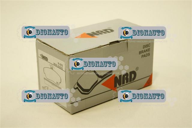 Колодка передняя тормозная 3302, 2705, 2217 NRD к-т ГАЗ-2705 (ГАЗель) (3302-3501170)