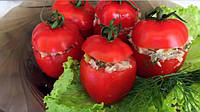 Фаршированные помидоры соусом из тунца