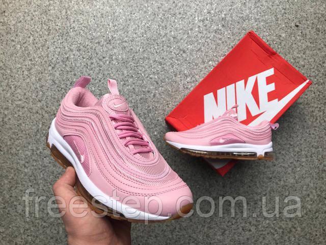 8197158b0479 Женские кроссовки NIKE Air Max 97 розовые. Размеры 37-40, Вьетнам,  рефлекторные вставки (отражают свет),. +ФІРМОВА КОРОБКА