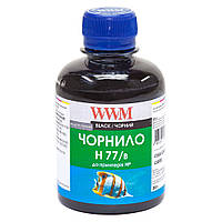 Чернила WWM для HP №177/84 200г Black Водорастворимые (H77/B)