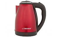 Электрочайник Esperanza EKK013R Red, нержавеющая сталь, электрический чайник, електрочайник