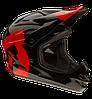 Шлем 661 Comp «M» черно-красный