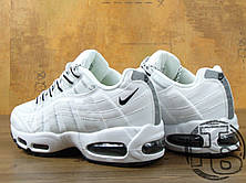 Женские кроссовки реплика Nike Air Max 95 White 609048-109, фото 3