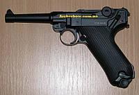 Пистолет пневматический KWC Parabellum P 08 Blowback, фото 1
