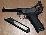 Пистолет пневматический KWC Parabellum P 08 Blowback, фото 3