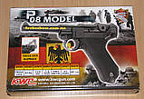 Пистолет пневматический KWC Parabellum P 08 Blowback, фото 5