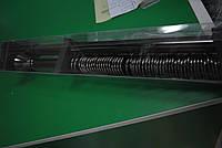 Карниз раздвижной черный никель двойной