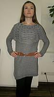 Туника-платье с воротом болеро. Оптом.