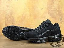 Мужские кроссовки Nike Air Max 95 Triple Black 609048-092, фото 3