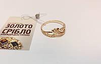 Кольцо золотое, вставки циркон, размер 20. Вес 2,24 грамм.