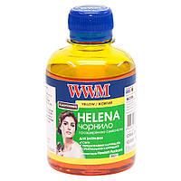 Чернила WWM HELENA для HP 200г Yellow Водорастворимые (HU/Y) универсальные