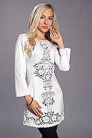 Платье женское модель №345-4,р.46,48,50 молочное