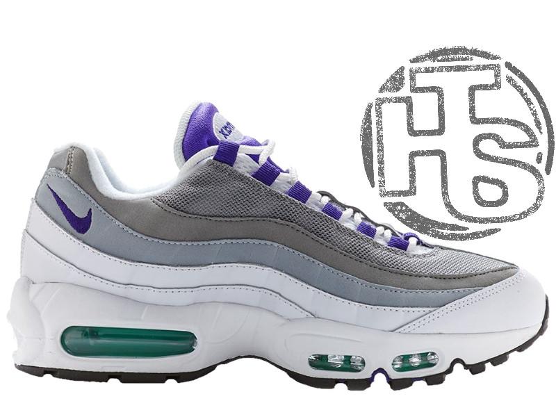 Женские кроссовки Nike Air Max 95 OG Grape White/Gray/Purple 554970-151