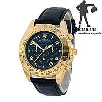 Часы кварцевые Rolex B87 Black-Gold-Black