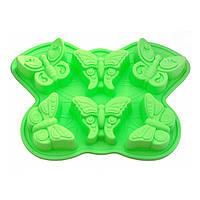 Форма для выпекания кексов Fissman БАБОЧКА (Силикон), фото 1