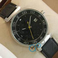 Часы наручные мужские Louis VuittonMechanic Silver/Black