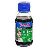 Чернила WWM HELENA для HP 100г Black Водорастворимые (HU/B-2) универсальные