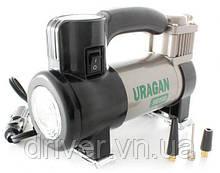 Автокомпресор URAGAN 90190, 7Amp / 35л. + LED підсвітка