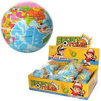 Мяч детский фомовый глобус