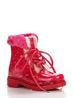 Резиновые сапоги Dual 34(р) Розовый 012-158
