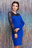 Платье Chantal электрик