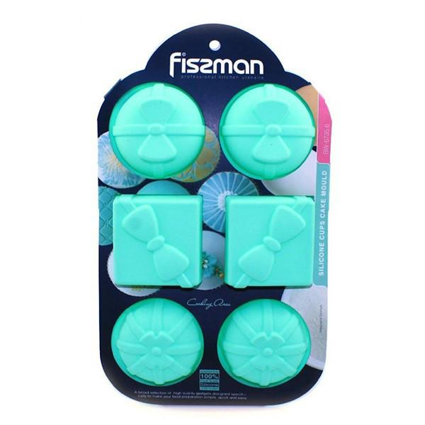 Форма для выпекания кексов Fissman ПОДАРКИ (Силикон)
