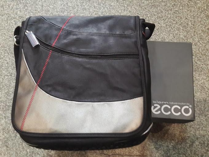 e1cd12715 Сумка ecco кожаная Performance Messenger Bag Black - vectorsport в Виннице