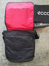 Сумка ecco кожаная Performance Messenger Bag Black, фото 2