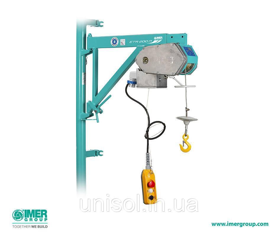 Подъемник строительный - лебедка строительная 500 кг
