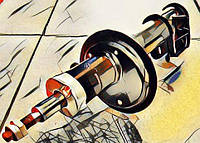 Амортизатор (стойка) передний, задний на Приору (2170, 2171, 2172)