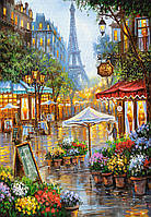 Пазлы Весенние цветы, Париж 1000 элементов