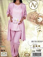 Красивая пижама для беременных и кормящих Nicoletta