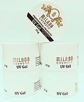 Гель для наращивания ногтей Milano Pink 56 ml. однофазный