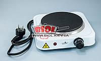 Плита электрическая 1кВт переносная одноконфорочная дисковая Stenson ME-0011S